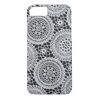 Crochet elegante capa iPhone 7