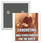 Crocheting: Bom bastante para a rainha Boton