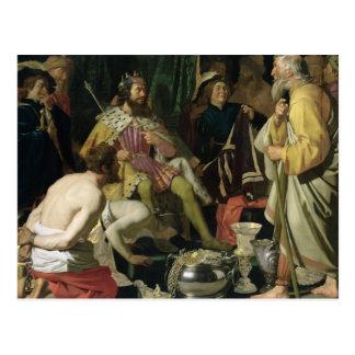Croesus e Solon, 1624 Cartão Postal
