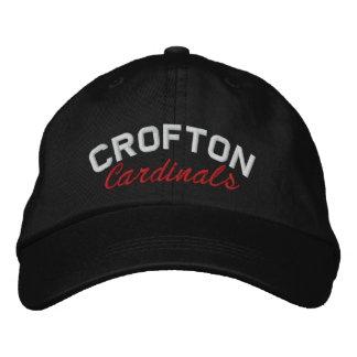 Crofton, chapéu dos cardeais boné bordado