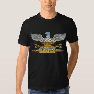 Cromo Eagle romano Camiseta