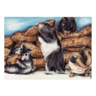 Cromos de colecção da arte dos pedreiro do amendoi modelo cartoes de visita
