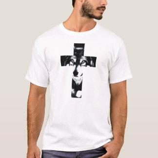 Cross Wolf Camiseta