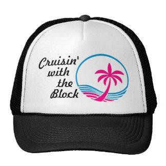 Cruisin com o chapéu do bloco boné