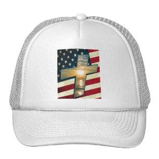 Cruz americana #1 boné
