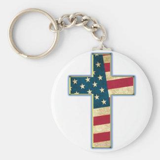 Cruz americana #2 chaveiro