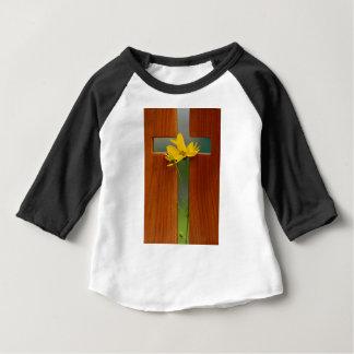 Cruz Camiseta Para Bebê