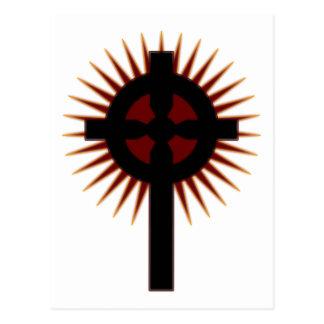 Cruz celta #5 cartão postal