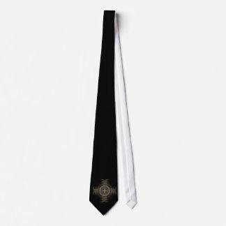 Cruz celta - gravata - preto
