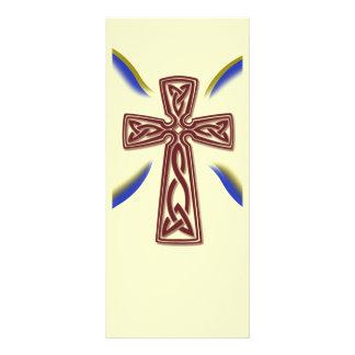 Cruz celta - marcador 10.16 x 22.86cm panfleto