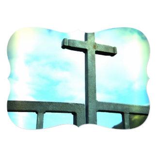 Cruz Convite 12.7 X 17.78cm