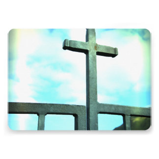 Cruz Convites Personalizado