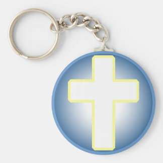 Cruz cristã chaveiro