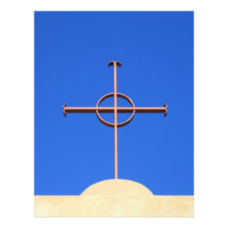 Cruz da igreja panfletos