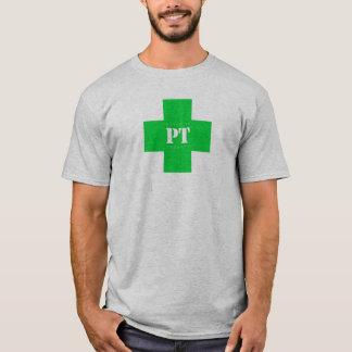 Cruz da pinta, verde camiseta