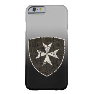 Cruz de Hospitaller dos cavaleiros, afligida Capa Barely There Para iPhone 6