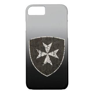 Cruz de Hospitaller dos cavaleiros, afligida Capa iPhone 7