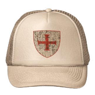 Cruz de Templar, afligida Boné