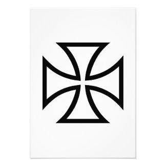Cruz do ferro convites personalizados