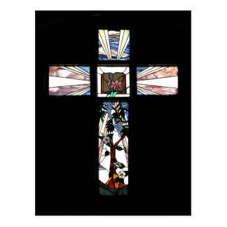 Cruz do vitral - cartão