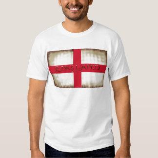 Cruz inglesa de St George da bandeira do Grunge de Tshirts
