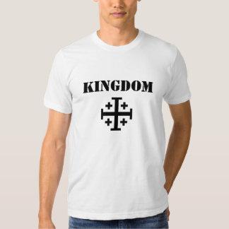 Cruz-Jerusalem-Poderoso-Heráldica, REINO Tshirt