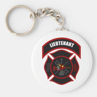 Cruz maltesa - tenente (capacete vermelho) chaveiro