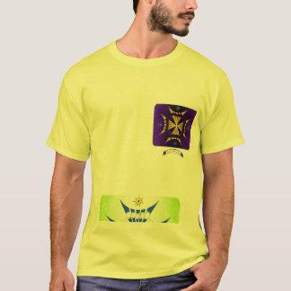 Cruz místico 2 do logotipo camiseta