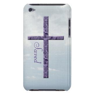 Cruz religiosa Salvar-Amethyst Capa Para iPod Touch