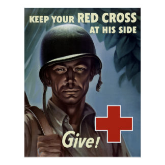 Cruz vermelha da segunda guerra mundial posters