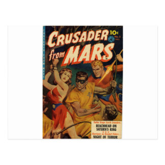 Cruzado de Marte Cartão Postal