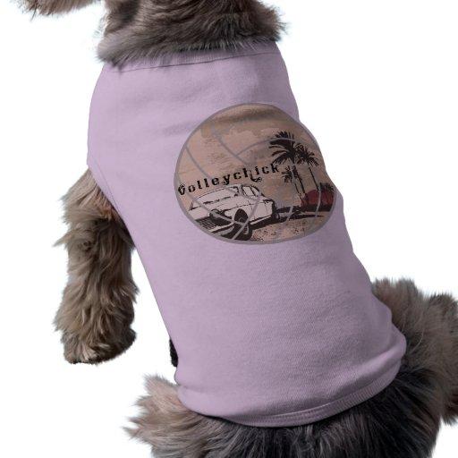 Cruzador de VolleyChick Roupa Para Cães