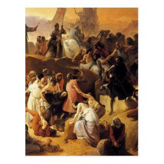 Cruzados Thirsting perto de Jerusalem por Cartão Postal