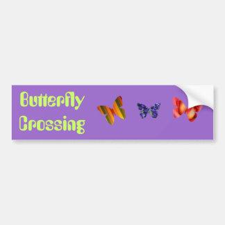 Cruzamento da borboleta adesivos