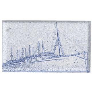 Cruzeiro à antiga suportes para cartões de mesas