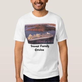Cruzeiro da família de Grover Camiseta