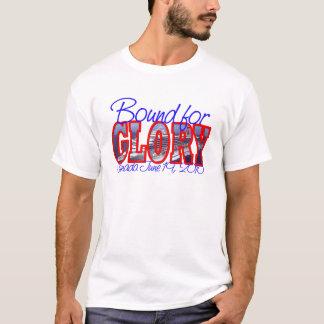 Cruzeiro do aniversário da glória 50th do carnaval camiseta