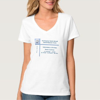 Cruzeiro do grupo do cameo do navio do forro t-shirts