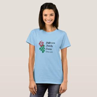 Cruzeiro Havaí da família Camiseta