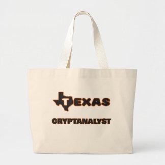 Cryptanalyst de Texas Sacola Tote Jumbo