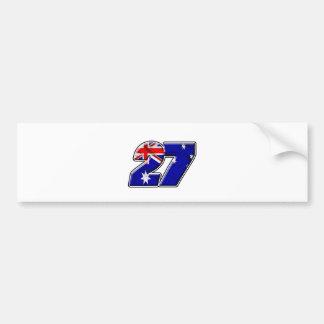 CS27flag Adesivo Para Carro