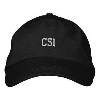 CSI bordou o chapéu Boné Bordado