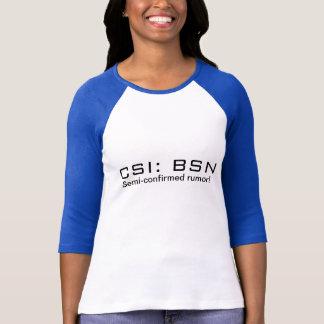 CSI: BSN CAMISETA