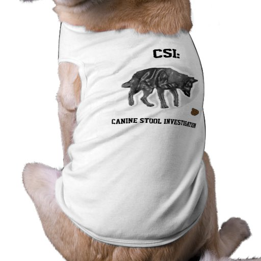 CSI: Canino Roupa Para Pets