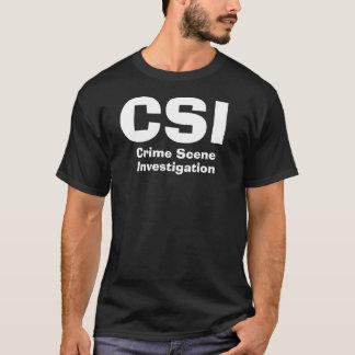 CSI, cena do crime, investigação Camiseta