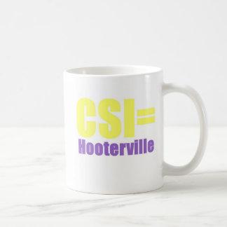 CSI Hooterville Caneca
