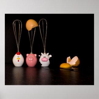 CSI Humpty Dumpty - o poster da parada de Eggdenti