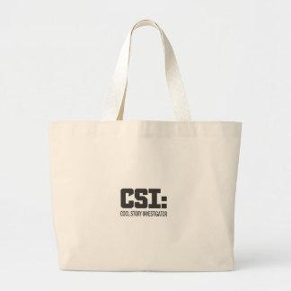 CSI: Investigador legal da história Bolsa Para Compras