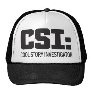 CSI: Investigador legal da história Bonés