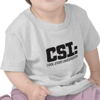 CSI: Investigador legal da história T-shirt